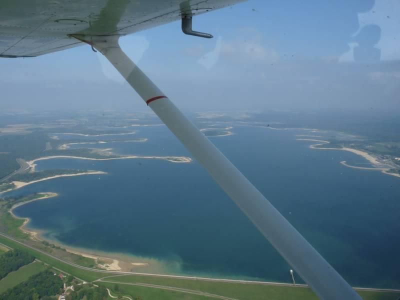 Vue lac avion 1